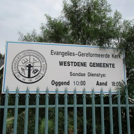 'n Kosbare reeks dienste by die EG Kerk Westdene met Mnr Keith Daniel