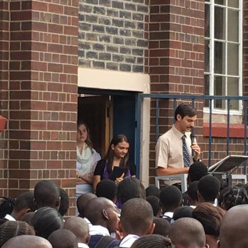 Afrika Evangeliese Bond Louis preek